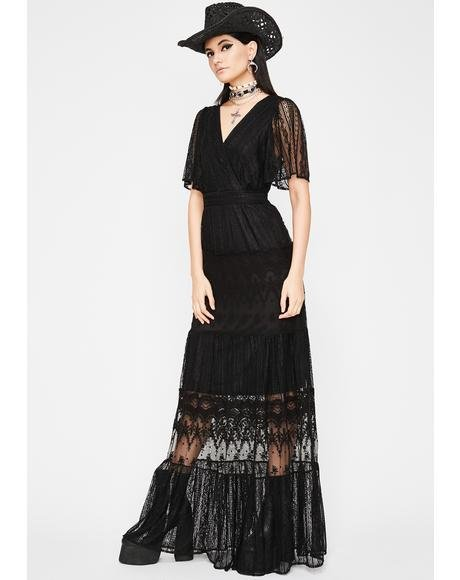 Dark Unchained Melody Lace Dress