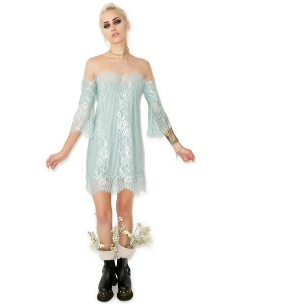For Love & Lemons Belle Mini Dress