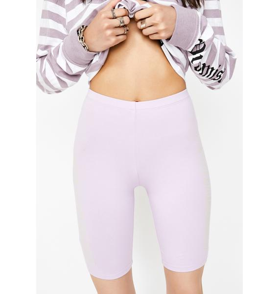 BROKEN PROMISES CO Spaced Out Biker Shorts