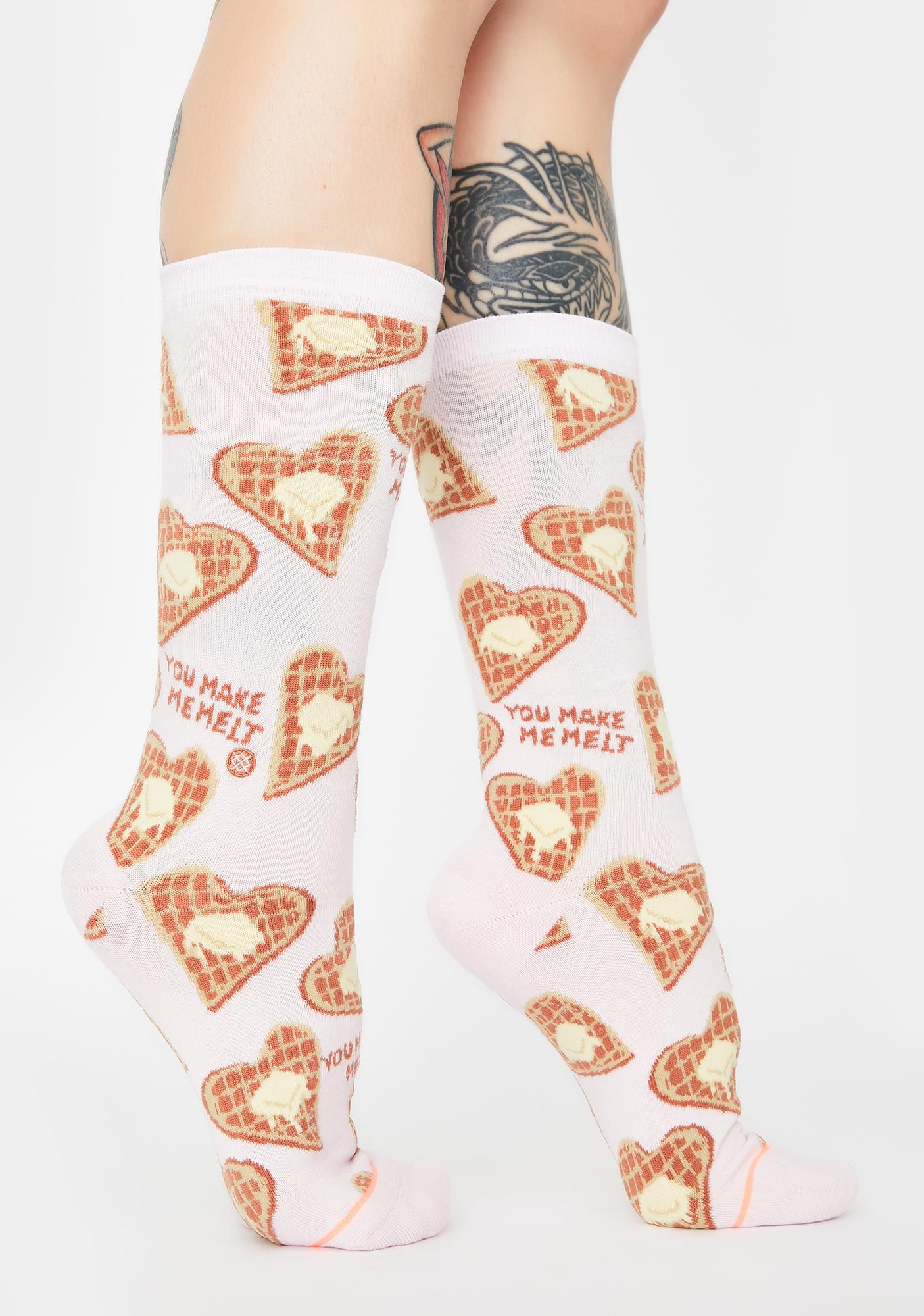 Stance You Make Me Melt Crew Socks