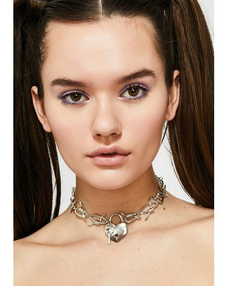 Love On Lock Choker