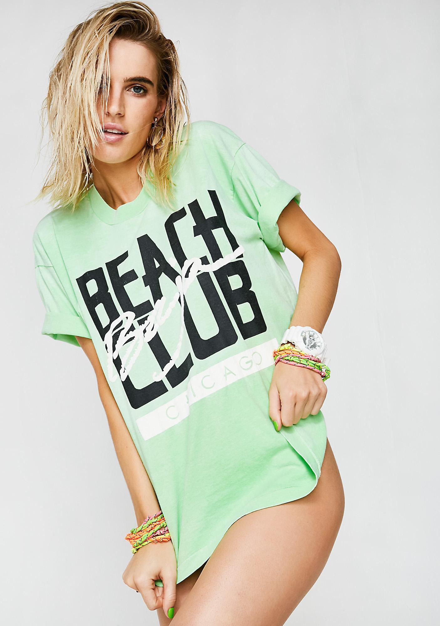 Vintage Chicago Baja Beach Club Tee
