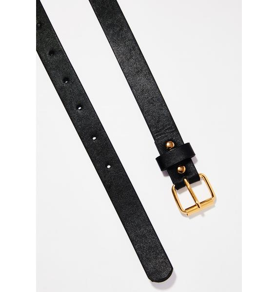 Gold Ready To Ryde Chain Belt