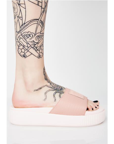 Platform Slide EP Sandals