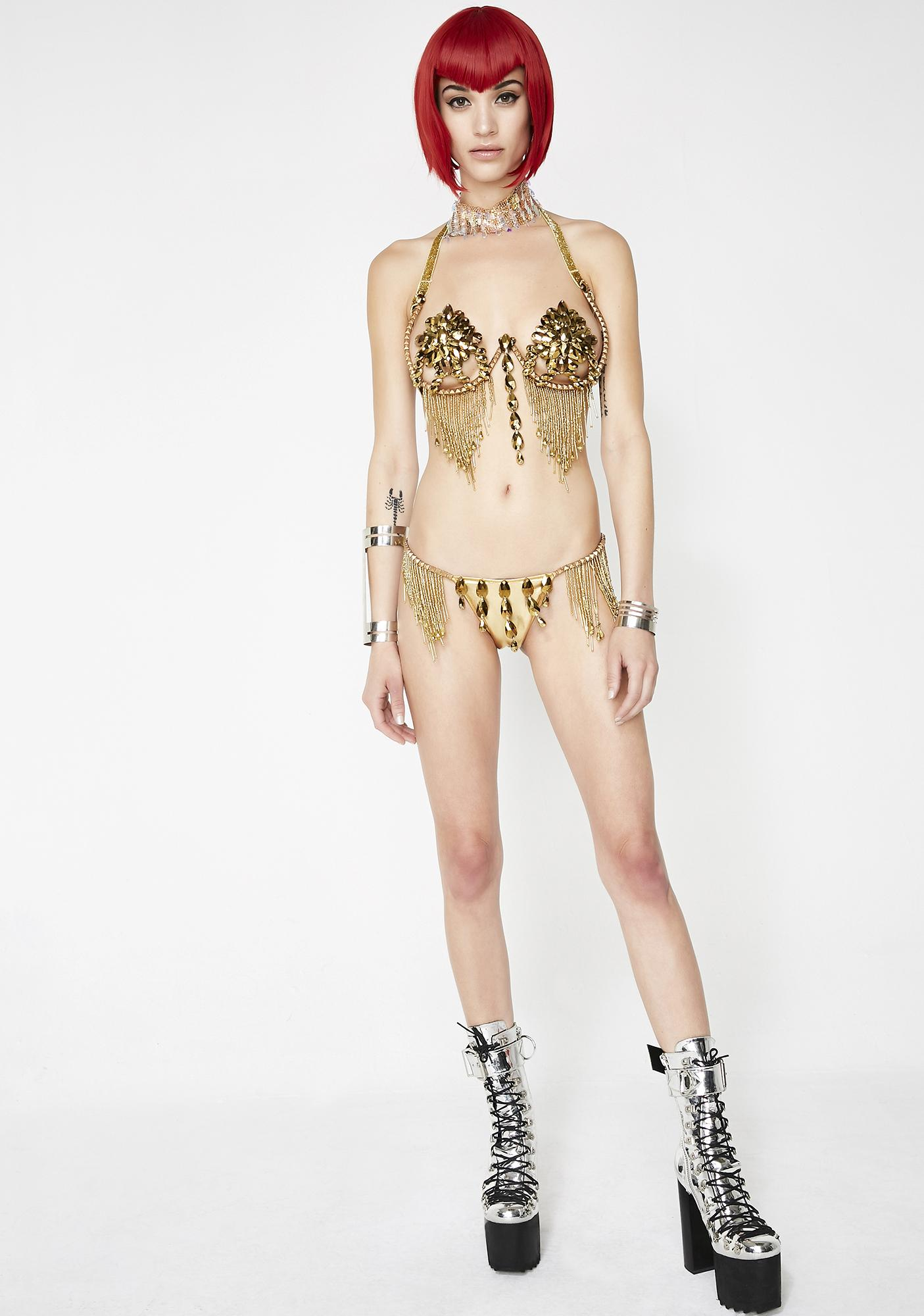 Dollyiance Gold Samba Panty