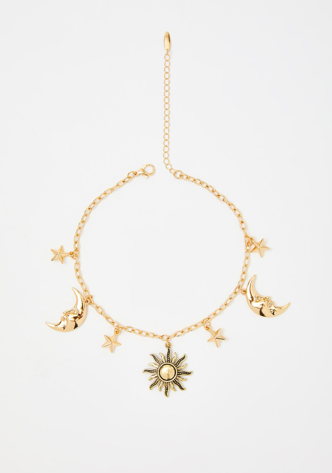 Sol Of Helios Charm Necklace