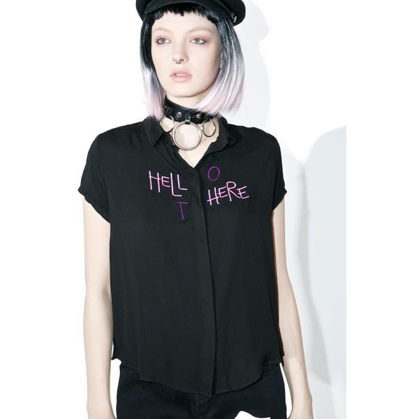 Disturbia Hello There Shirt