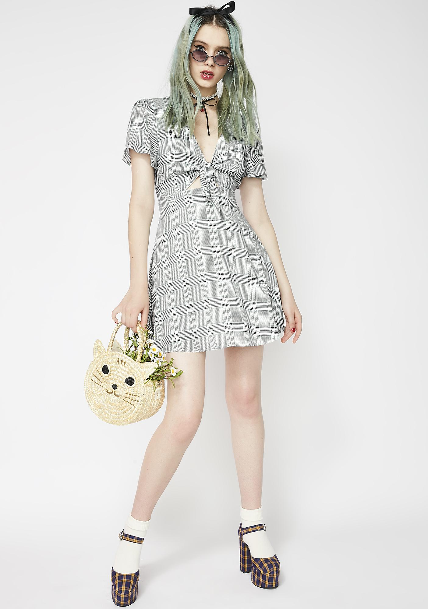Picnic Bae Tie Front Dress