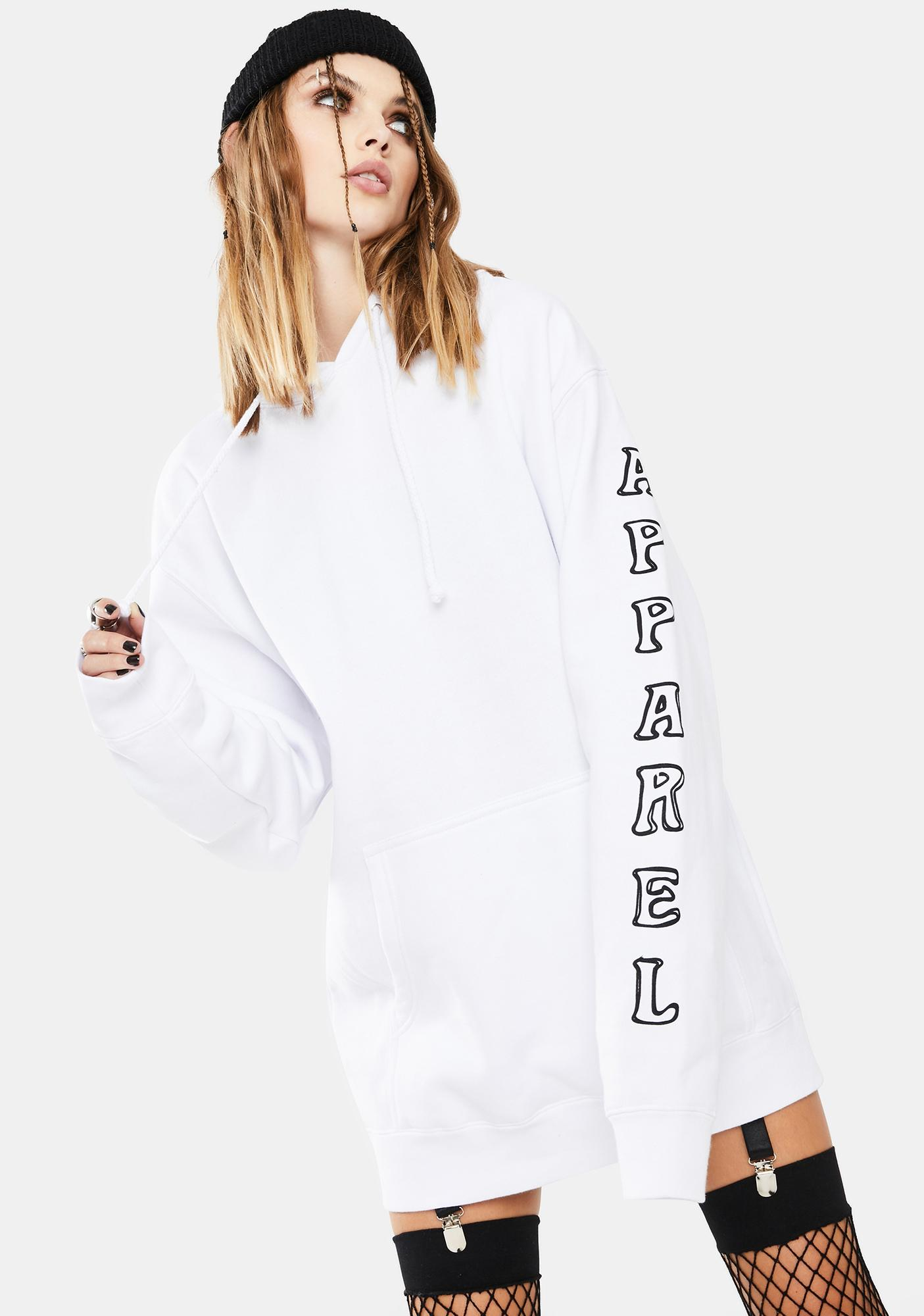 Funeral White Riding On Faith Graphic Hoodie