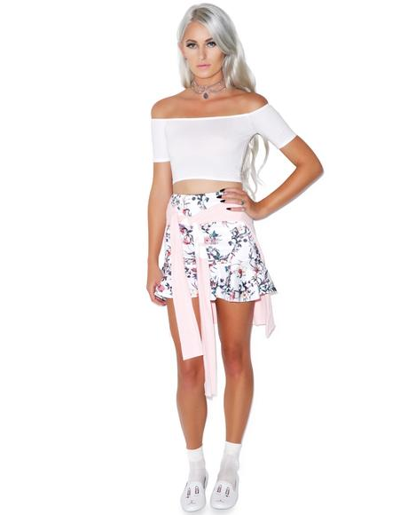 Dana Off The Shoulder Crop Top