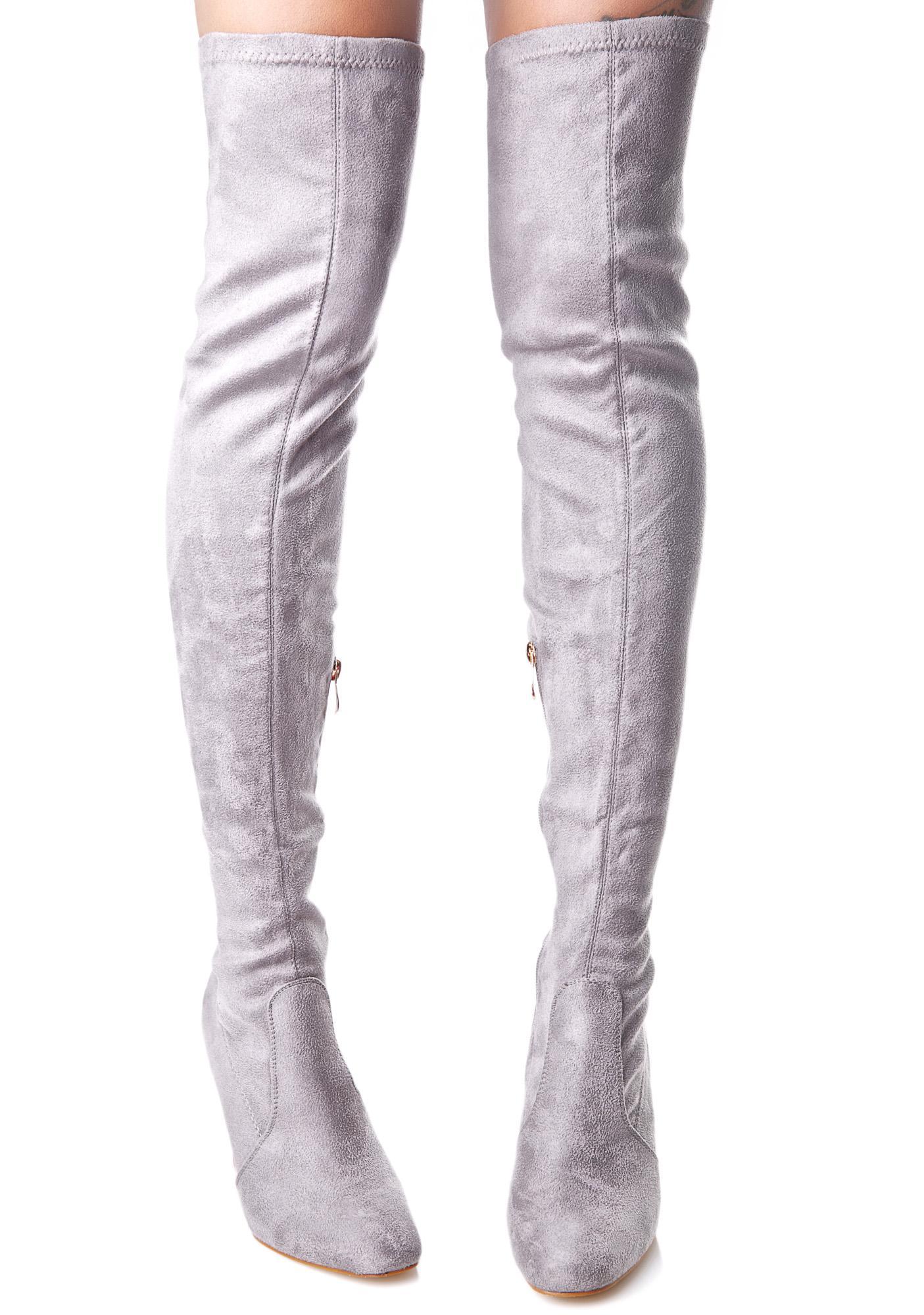Neptune Thigh-High Boots