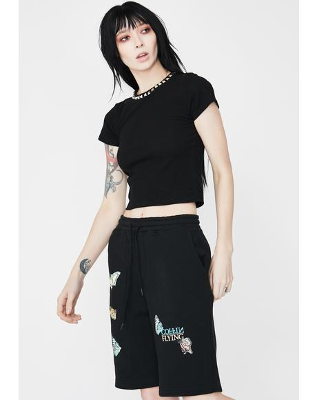 Insecta Graphic Sweat Shorts