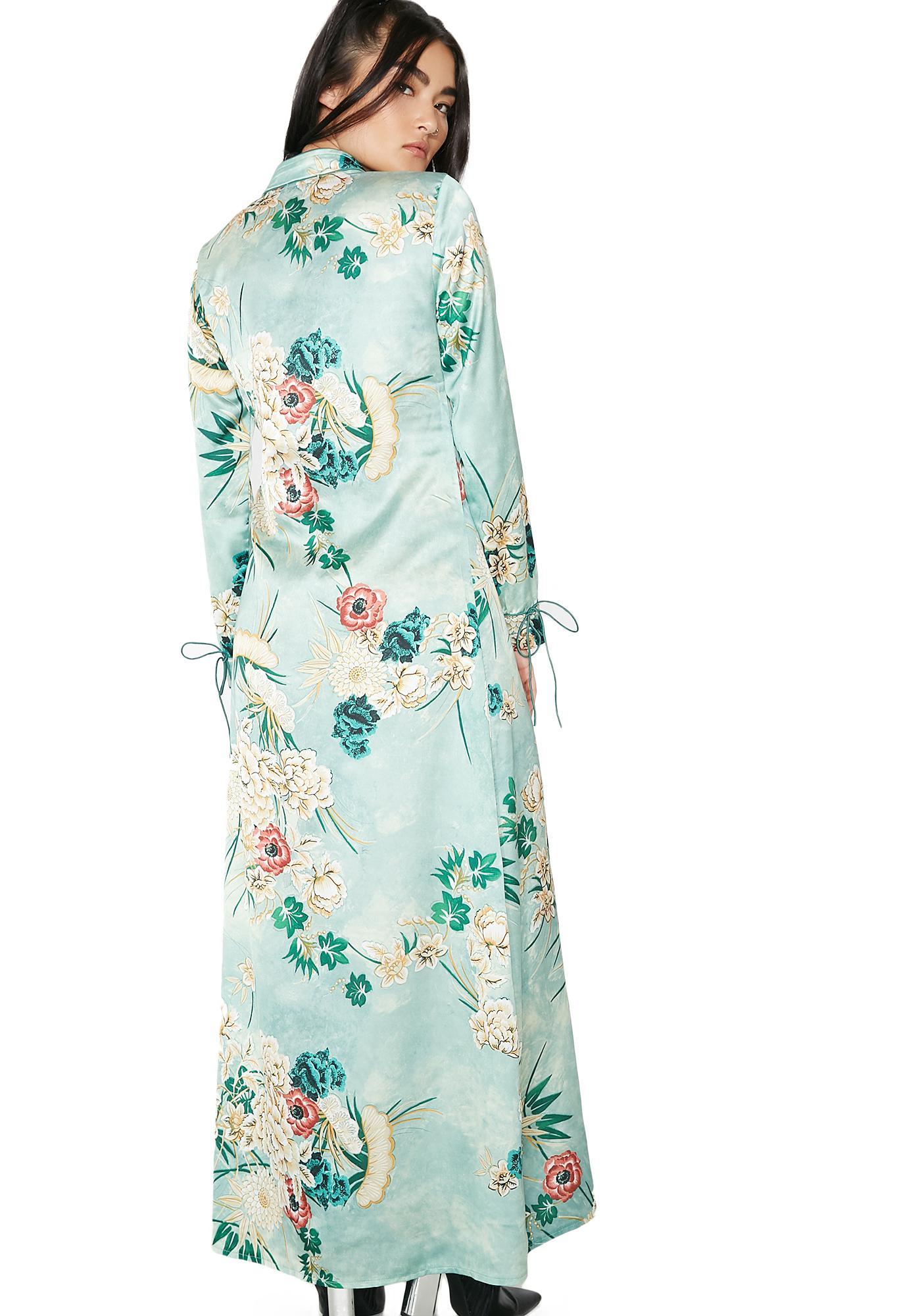 Zen Master Wrap Kimono