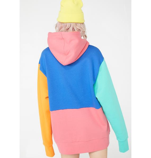 RIPNDIP Color Block Panel Hoodie