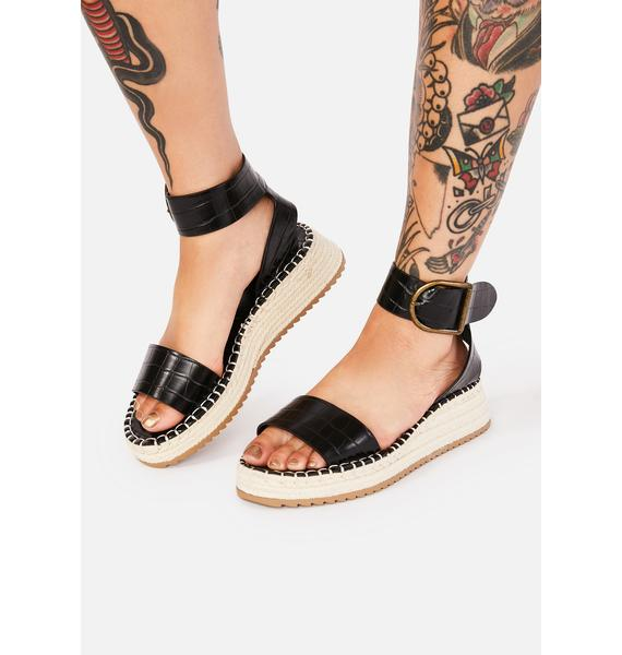 Under The Sun Espadrille Sandals