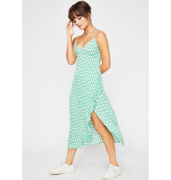 Natural Beauty Midi Dress