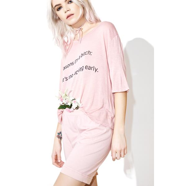 Daydream Nation Reasons Tee