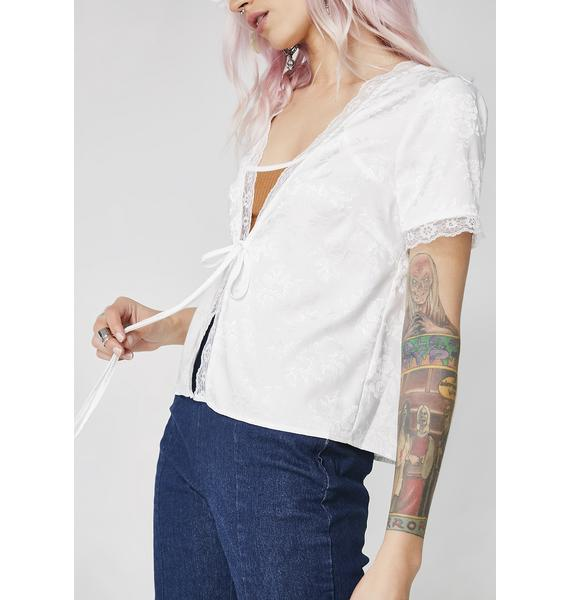 Flirt Away Rose Top