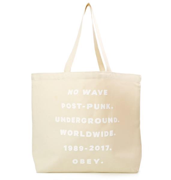 Obey Underground Worldwide Tote
