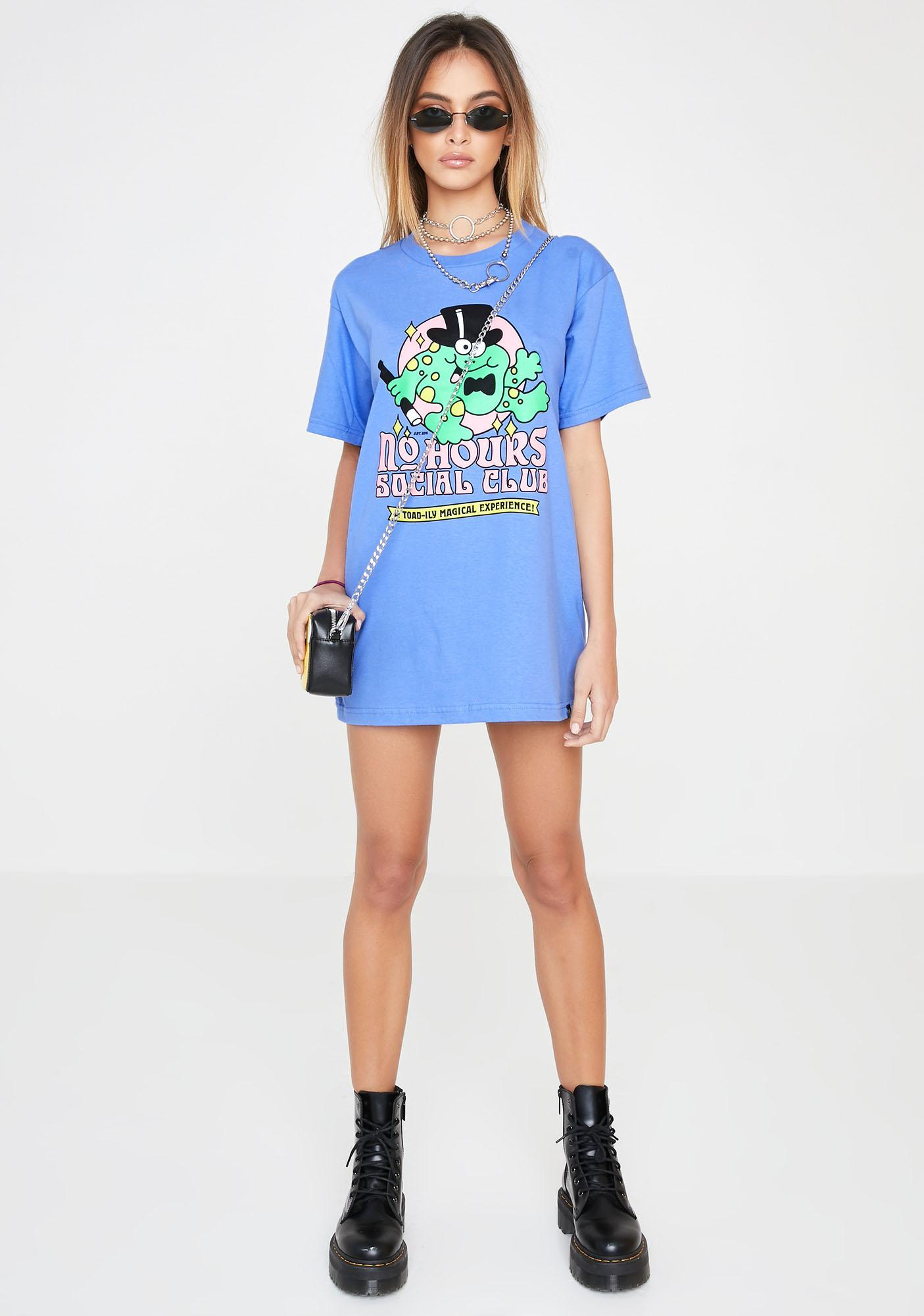No Hours Toadily Graphic Tee
