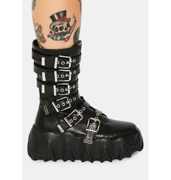 Lamoda Lockdown Lovers Biker Boots