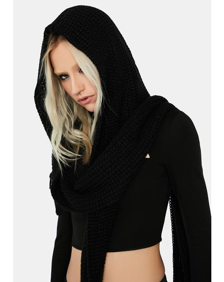 Dystopia Hooded Scarf