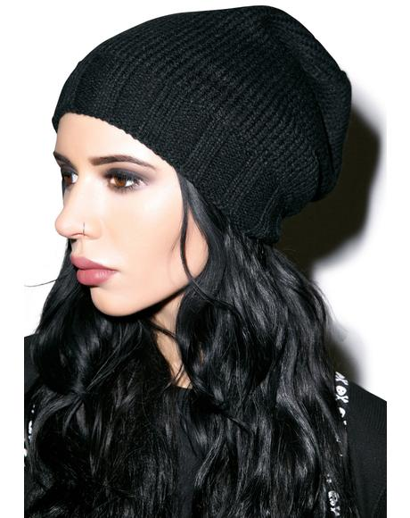 The Perfect Warm Knit Hat