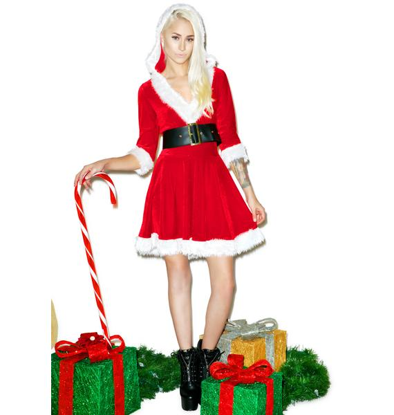 Lady Santa Set
