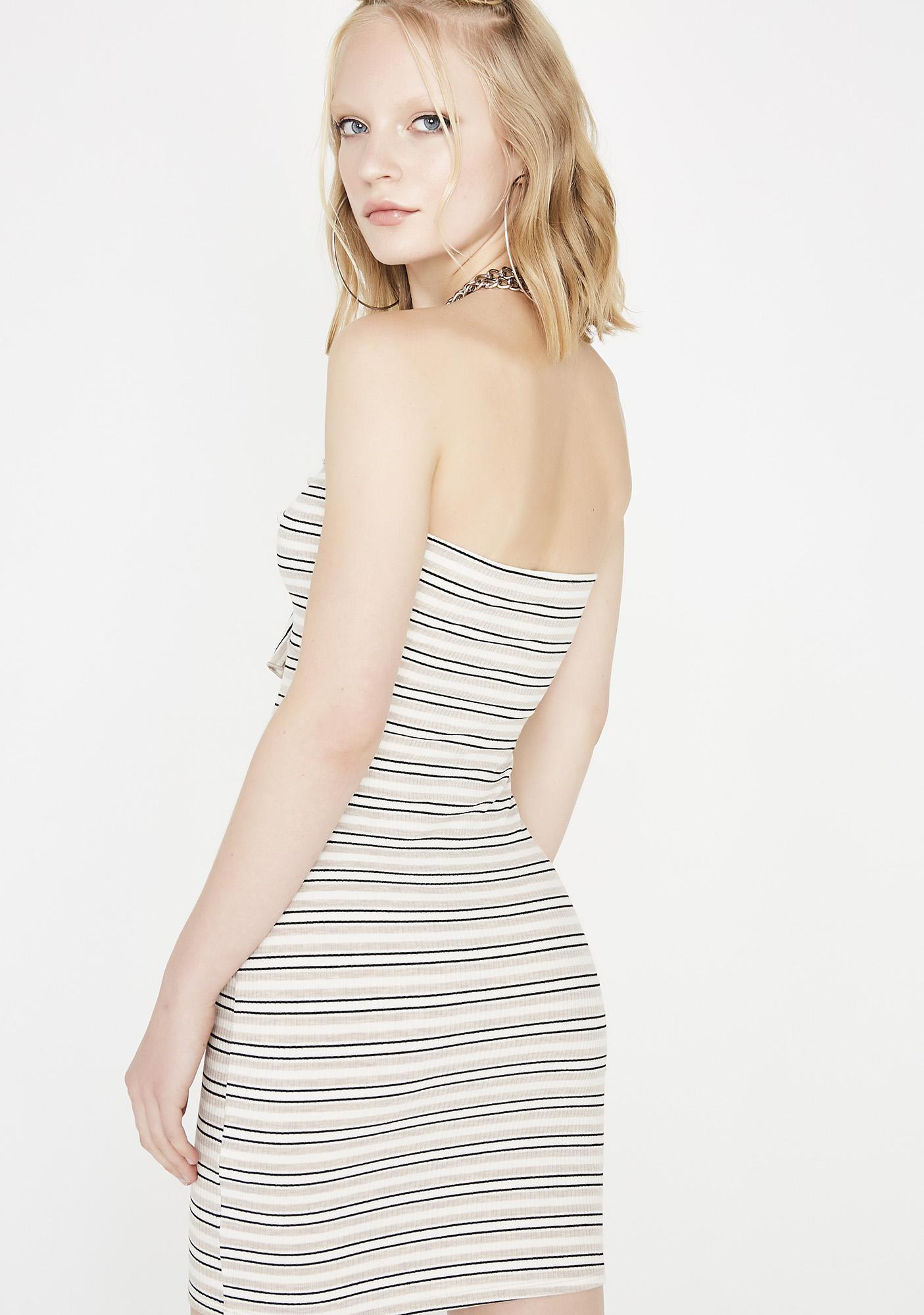 Do It On Ur Own Striped Dress