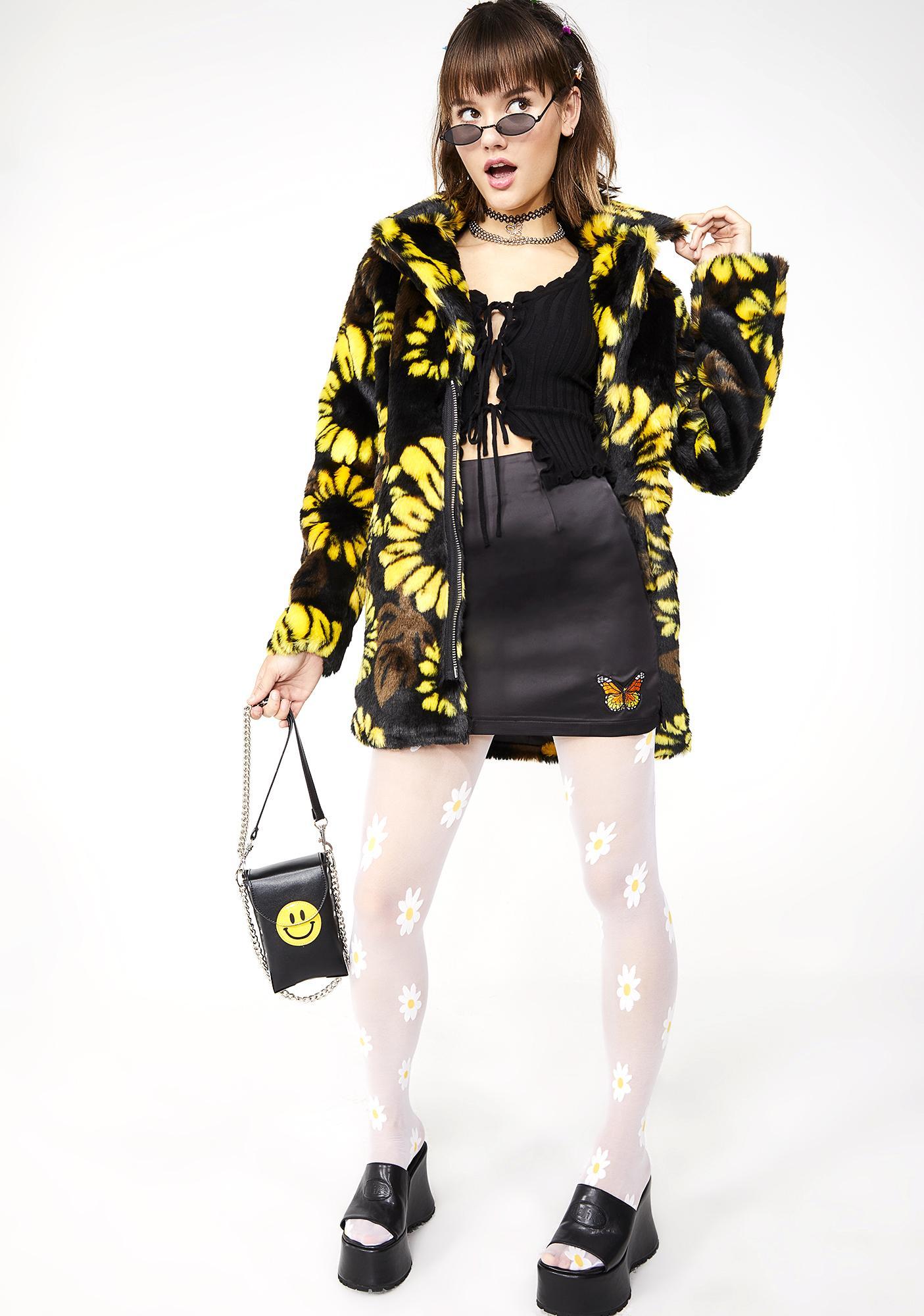 dELiA*s by Dolls Kill Love Buzz Mini Skirt