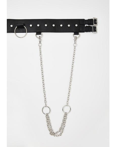 Subvert Chain Harness Belt