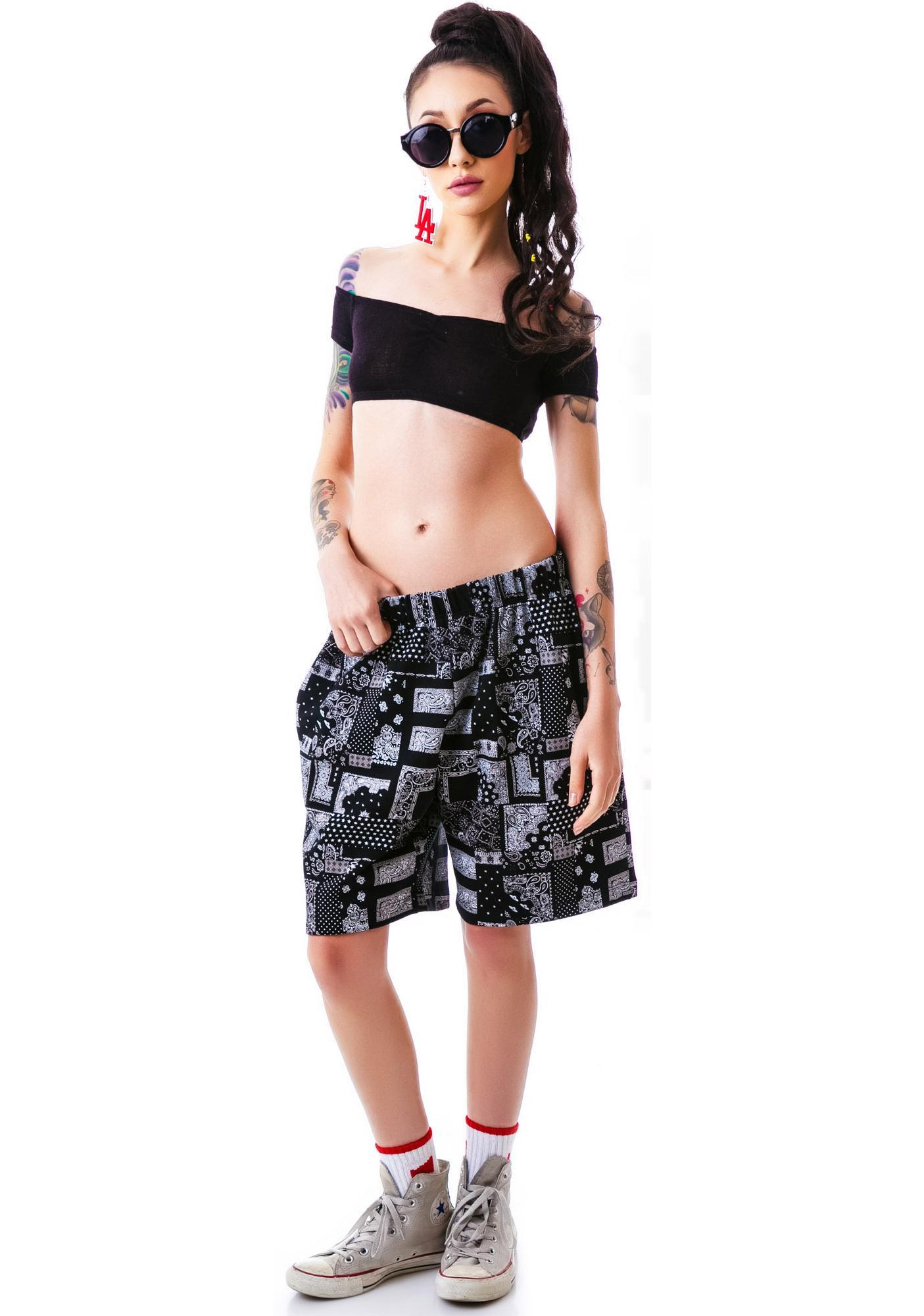 HLZBLZ Bandana Shorts