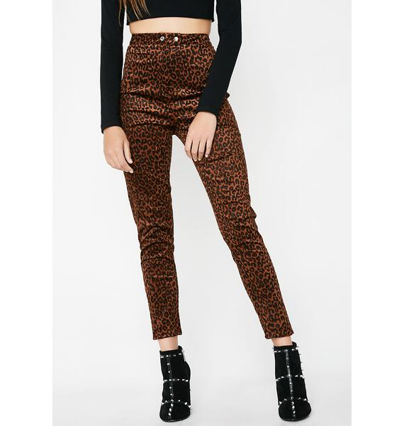 Cat's Meow High Waisted Pants