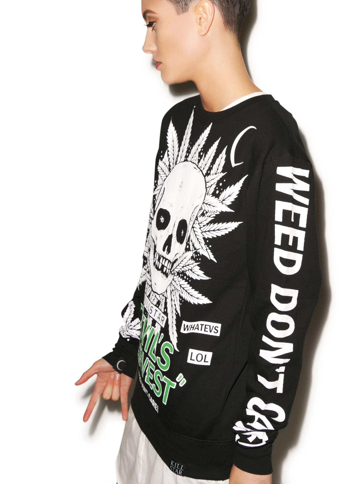 Killstar Devils Harvest Sweatshirt