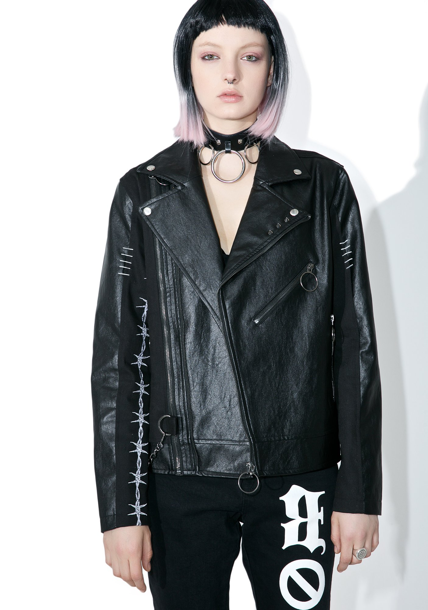 Disturbia Wire Biker Jacket