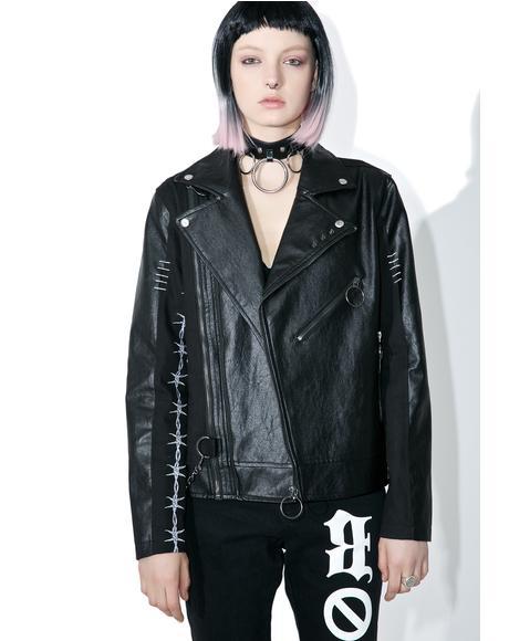 Wire Biker Jacket