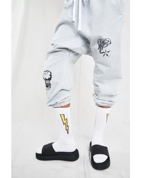 Bolt V1 Socks