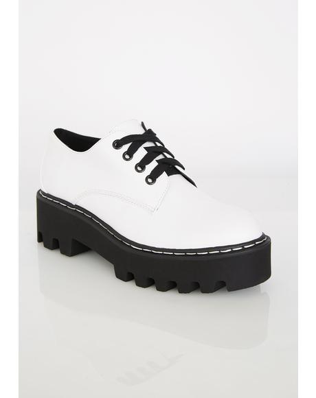 Bona Fide Punk Platform Oxfords