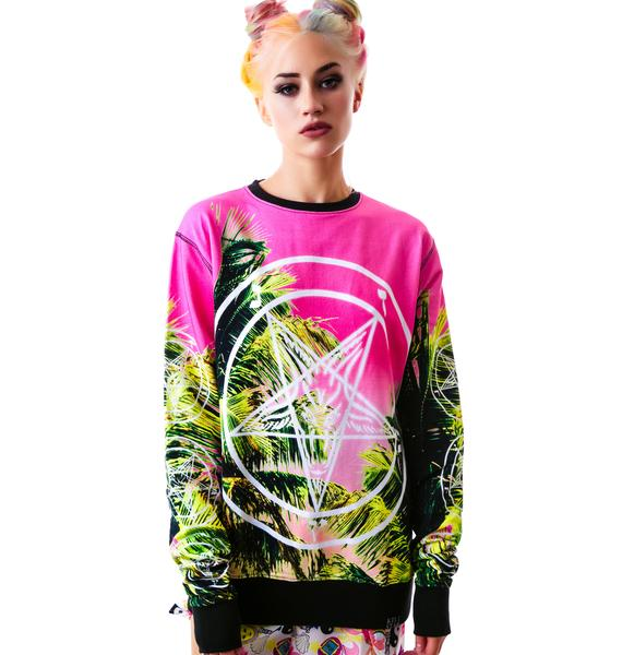 Killstar Palm Springs Sweatshirt