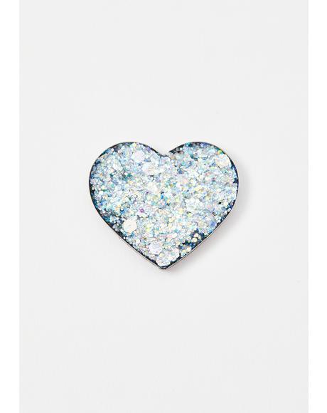 Love 9 Pressed Glitter