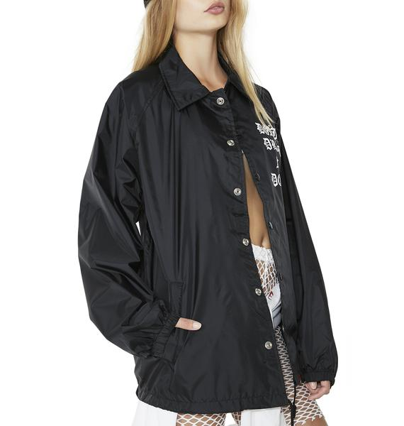 MNKR Don't Drag Me Down Coaches Jacket