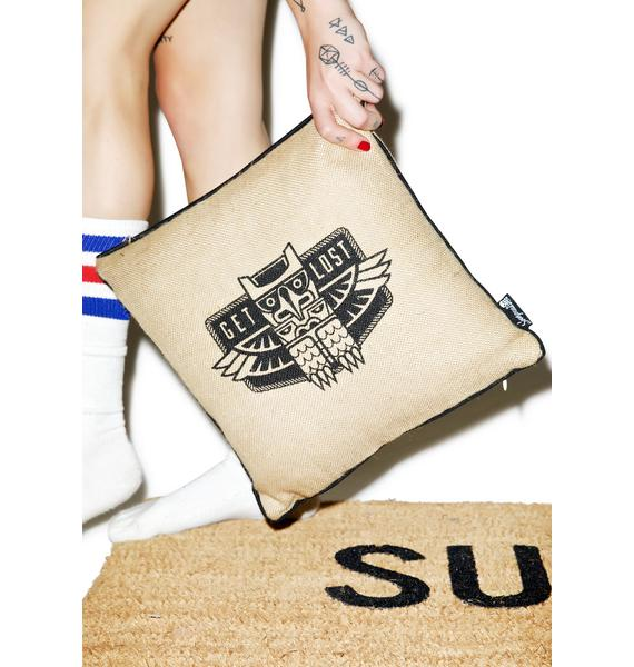 Sourpuss Clothing Get Lost Pillow