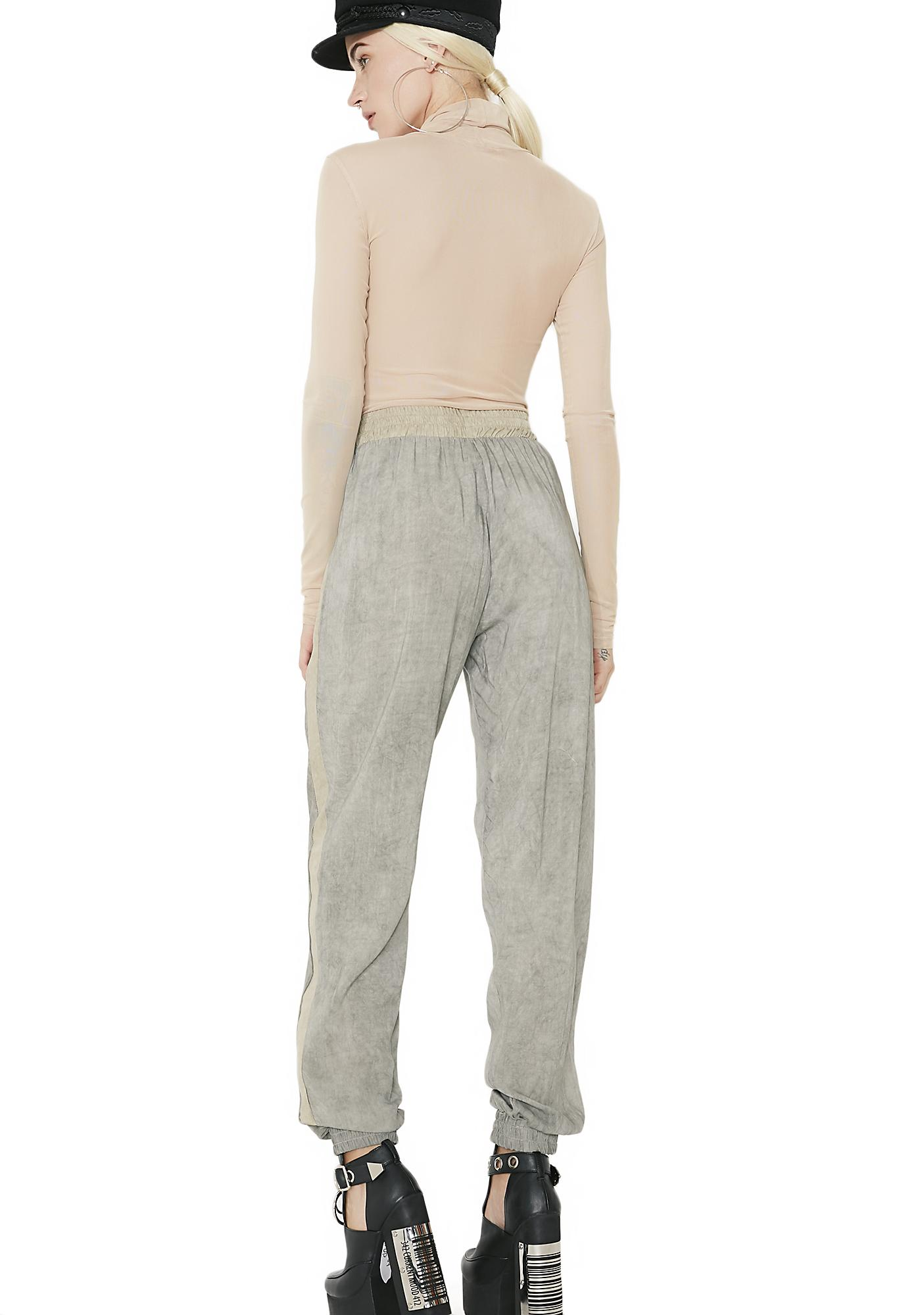 Down N' Out Two Tone Pants