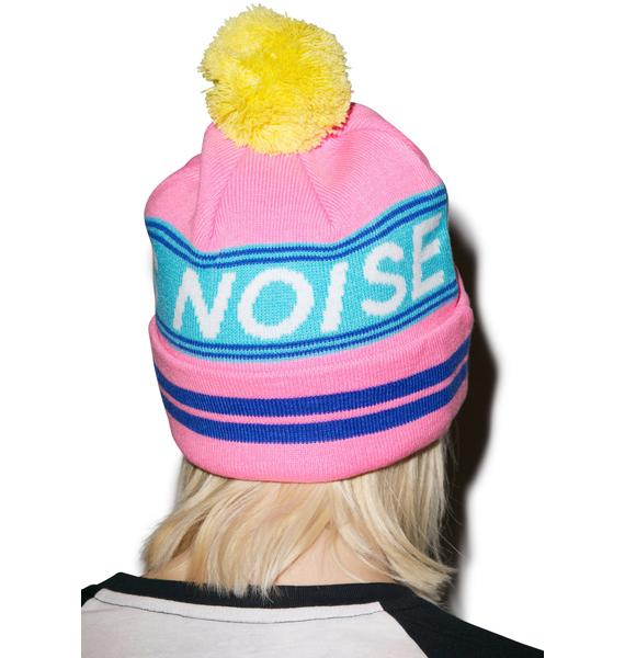 Lazy Oaf Fuck this Noise Bobble Hat