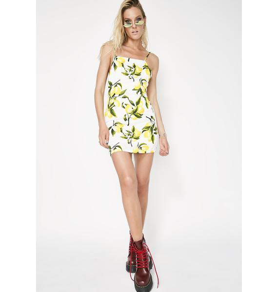 Citrus Squeeze Mini Dress