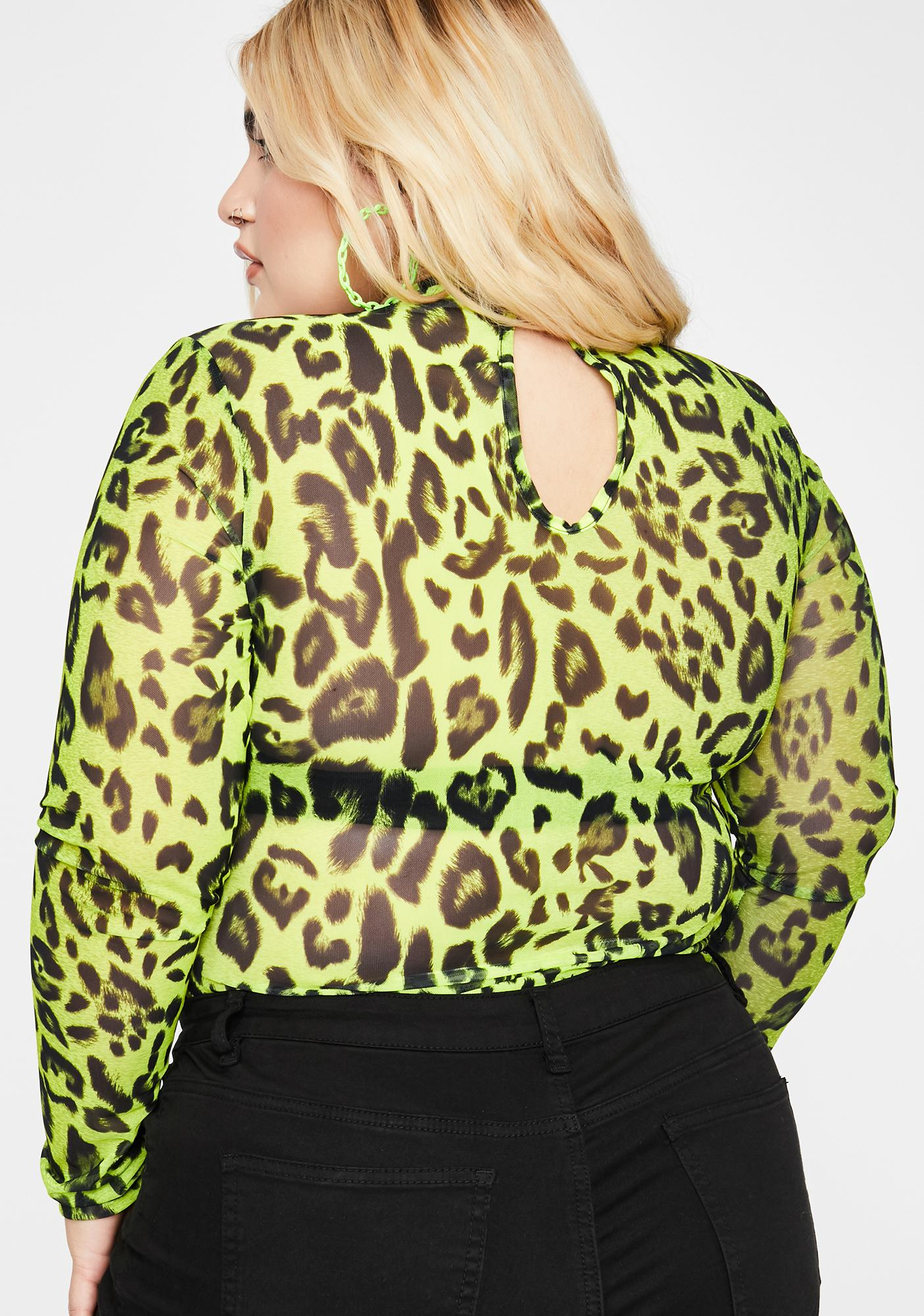 Wild Sonic Pounce Leopard Bodysuit