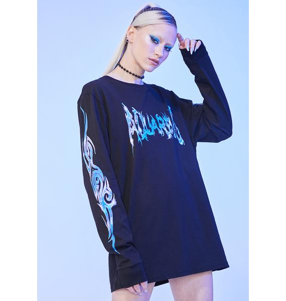 HOROSCOPEZ The More You Know Long Sleeve Graphic Tee