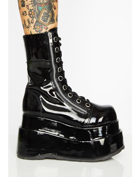 Wicked Vampyro Platform Boots