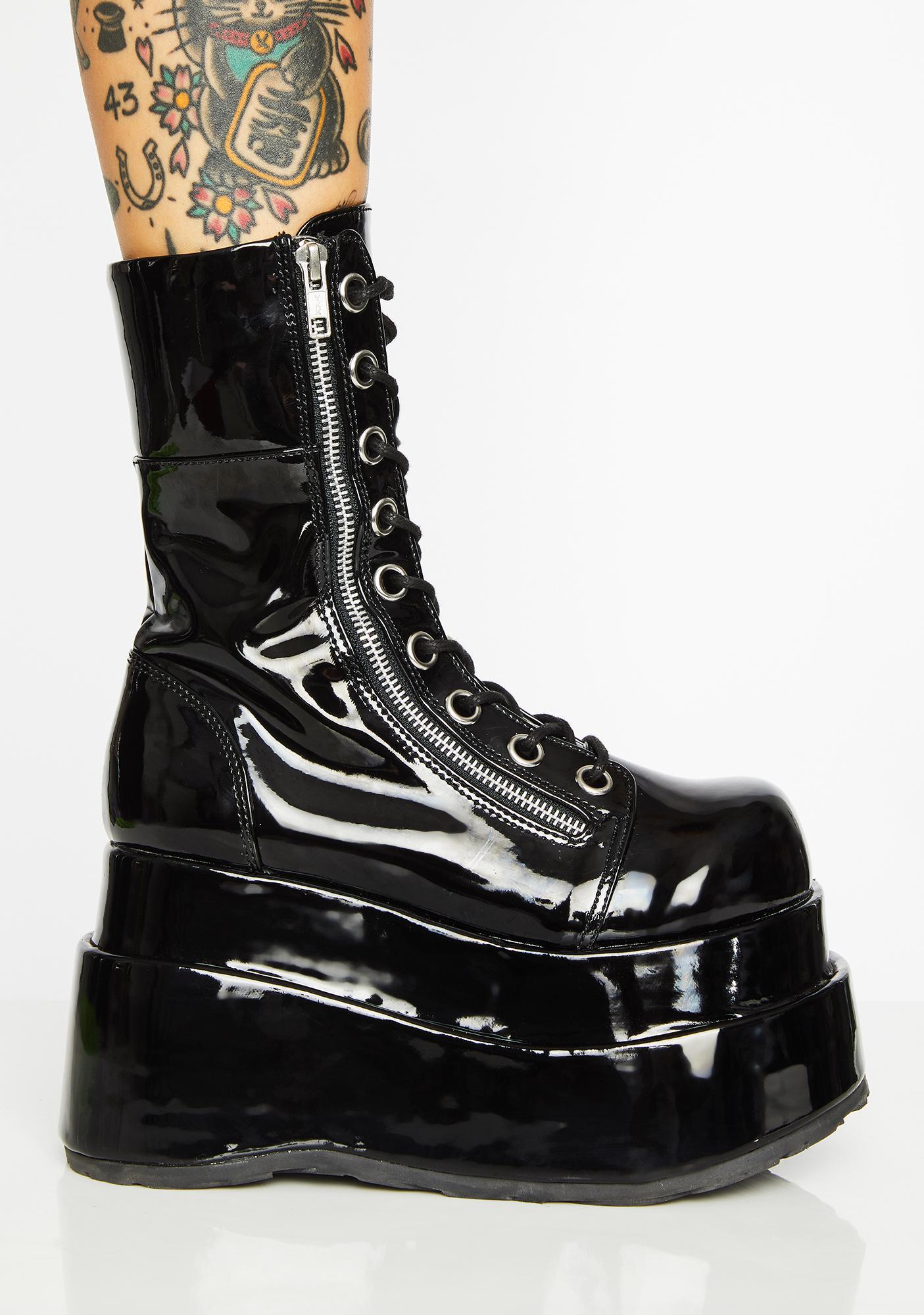 Demonia Wicked Vampyro Platform Boots