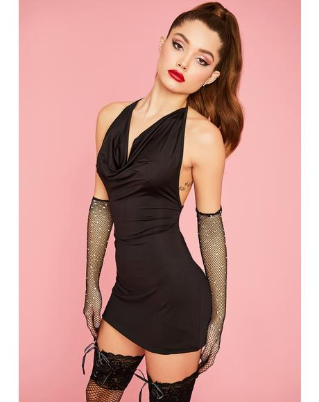 Vip Access Bodycon Dress